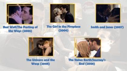 Idris/Tardis dice che mordere è come baciare, solo che c'è un vincitore. Ecco il motivo per cui questa maratona si chiama così.  Il Dottore in realtà bacia MOLTE persone... per cui ho dovuto fare una selezione. Siete d'accordo con me... o avreste scelto altri episodi?