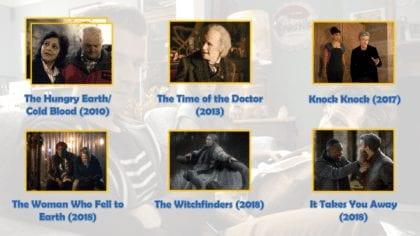 """Fun Fact: in The Time of The Doctor il Dottore diventa un po' un nonno per tutti i bimbi di Trenzalore ma... nello stesso episodio appare anche una nonna """"vera e propria"""", quella di Clara... una vecchina decisamente arzilla!"""