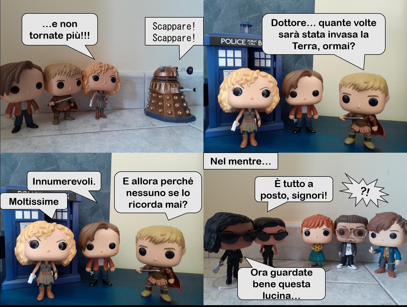 Doctor Vinyl, Vol. 3 EPISODIO II  Come fanno gli umani a scordarsi OGNI VOLTA dei Dalek?